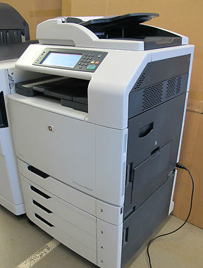 Hp Colour Laserjet Cm6040f Mfp Copier Scanner Color Fax